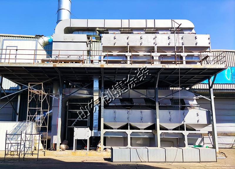 河南液压支架-喷漆线废气处理设备改造项目