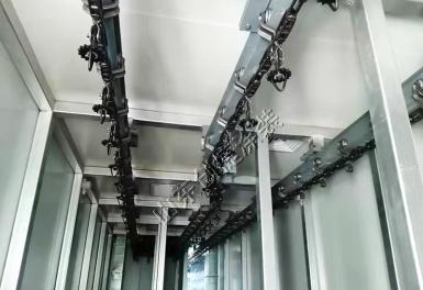 山西托辊悬挂链涂装线项目